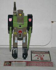 transformers G1 hardhead complete