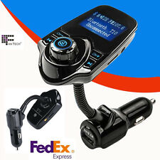 LCD Car Kit Handsfree Wireless Bluetooth USB Charger  FM Transmitter MP3 Player