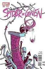 SPIDER-GWEN 1 RARE SKOTTIE YOUNG BABY VARIANT AMAZING SPIDERMAN SOLD OUT