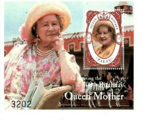 Palau - 2000 - Queen Elizabeth 100th - Souvenir Sheet - MNH
