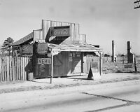 Roadside shack selling Coca-Cola Nehi 7-Up in Selma Alabama 1935 Photo Print