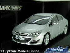 OPEL VAUXHALL ASTRA MODEL CAR 1:43 SCALE SILVER MINICHAMPS 410 042000 MK6 K8