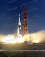 8x10 Print NASA First Saturn Mission SA-9 Payload Pegasus 1 Satellite 1965 #SA9