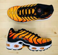 Nike Air Max Plus OG TN Sunset Orange Black BQ4629-001 Men's Size 4 Wmns Sz 5.5
