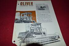 Oliver Tractor Combine Cab Dealer's Brochure DCPA