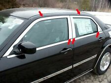 2005-2010 CHRYSLER 300 10 Piece Stainless Steel Window Trim Package