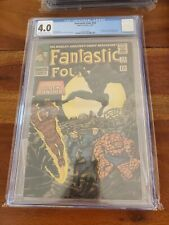 Fantastic Four #52 1966 CGC 4.0 1st Appearance of The Black Panther
