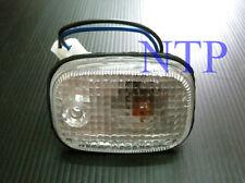 CLEAR SIDE TURN SIGNAL BLINKER INDICATOR LIGHTS FOR NISSAN NAVARA D21 UTE 86-97