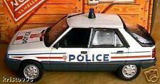 RENAULT 11 R11 POLICE de 1983 NOREV 1/43 POLIZEI BLANC