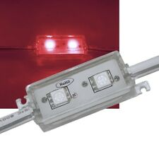 SMD LED Modul ROT / 2-fach 5050 SMD / 12V IP65 / Stripe Strip Leiste waterproof