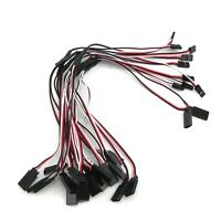10pcs 300mm Y Servo RC Extension  Lead Wire Cord Cable for JR Futaba 30cm U