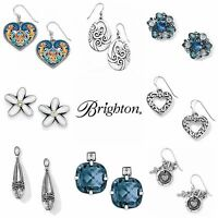 Brighton Earrings French Wire Post Dangle Free US Shipping