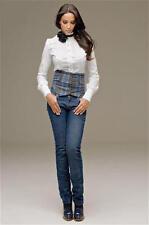 Stretch-Jeans, KORALLINE. Italy. Gr. XS. NEU!!!