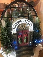 Christmas Village - Fiber Optics - Greenhouse - St Nicholas Square - 2003