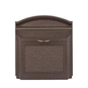 Large Capacity Wall Mailbox