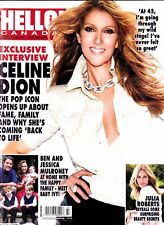"Celine Dion ""Rare"" Hello Canada Nov 2013 Magazine 6 Pages"