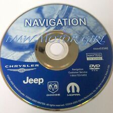 Chrysler Dodge Jeep Ram Navigation DVD Map 033 AE Pacifica T&C Charger 1500 2500