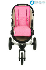 Universal Reversible Pure Cotton Pram Liner by Keep Me Cosy™ - Classic Pink Spot