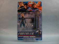 Toy Biz Fantastic Four (4) Power Blast INVISIBLE WOMAN w/ Water Blasting Action