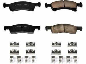 Front Disc Brake Pad and Hardware Kit For 2003-2006 Lincoln Navigator T341WS
