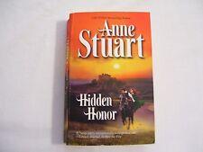 "Historical Romance Book ""Hidden Honor"" by Anne Stuart"