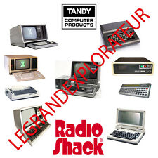 Ultimate Tandy Radio Shack TRS-80 Operation Repair & Service manual   370 on DVD