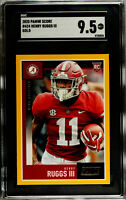 Henry Ruggs III 2020 Panini Score #424 Gold Rookie RC SGC 9.5 Mint Plus Alabama