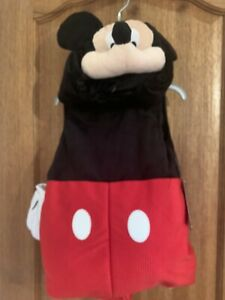 Disney Store Mickey Mouse Baby Halloween 🎃Costume Body Suit Set 18-24 Months