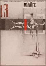 LE PETIT SOLDAT Amazing ULTRA RARE Original Czech Poster JEAN-LUC GODARD