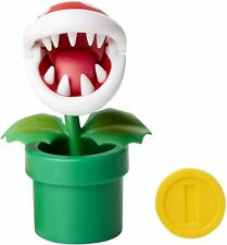 "Jakks Super Mario World of Nintendo Piranha Plant 4"" Action Figure NEW"
