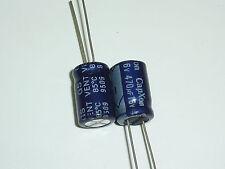 10pcs 470uF 16V CAPXON GS 10x17mm 16V470uF Aluminum Electrolytic Capacitor