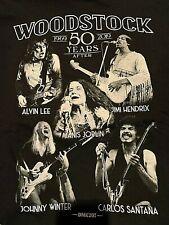 Woodstock Music Festival T-Shirt Size 2Xl 1969*New*.Hendrix, Joplin,Santana
