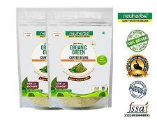 100% Organic Green Coffee Powder With Decaffeinated & Unroasted Arabica-200 gram
