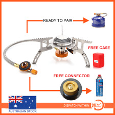 Outdoor Gas Jet Portable Stove Burner Cooking Hiking Camping Gear Cooker Picnic