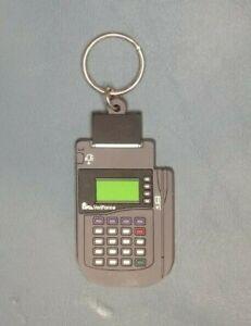 VINTAGE Verifone POS Terminal Promotional Keychain