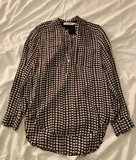 Isabel Marant Etoile Silk Star Bird Shirt 40