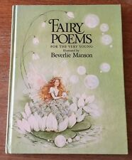 Fairy Poems For The Very Young Beverlie Manson 1982 First Edition HC