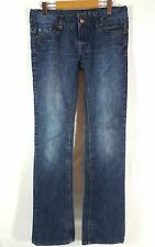 Buffalo David Bitton Women's Jeans Size 29 Low Rise Jem Boot Cut Denim Stretch