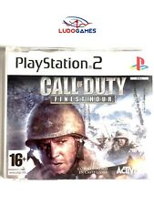 Call Of Duty Finest Hour PAL/EUR PS2 Promo Retro Playstation Videojuego Mint