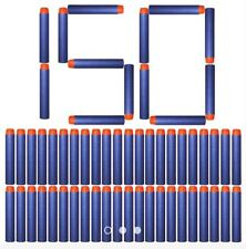 150pcs 7.2cm Refill Bullet Darts for Nerf Blasters Toy Blue
