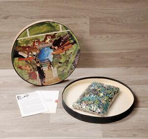 Springbok Sherlock Holmes Silver Blaze 450 Piece Circular Jigsaw Puzzle 1966