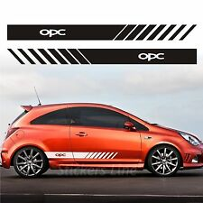 Stickers Kit Vauxhall Corsa OPC Bands Side Opel Stripes