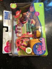 Littlest Pet Shop, Walkables Themed Pack, Horse #2257 New With Wear On Box Dents