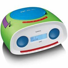Lenco Radio DAB+ Portative avec Lecteur CD / MP3 SCD-69 Radio Portable Vert