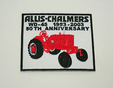 Vintage Allis-Chalmers Co Farm Equipment WD-45 53-03 Tractor Cloth Patch New NOS