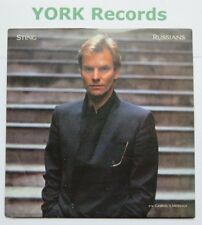 "STING - Russians - Excellent Condition 7"" Single A&M AM 292"
