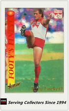 1995 Select AFL Series 2 Just Jezza Foil Jj5 Alex Jensaulenko