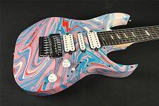 Steve Vai Passion and Warfare 25th Anniversary Signature - Pink/Blue Dip