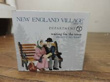 Dept 56 New England Village Waiting For The Train 808917