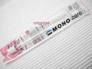 6 Refills (3 Tubes) for Tombow Mono Zero Circular Shape Elastomer Eraser Pen